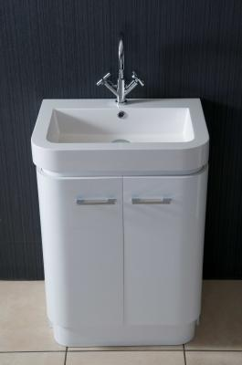 Alliance Bowmore 500 Basin And Unit White
