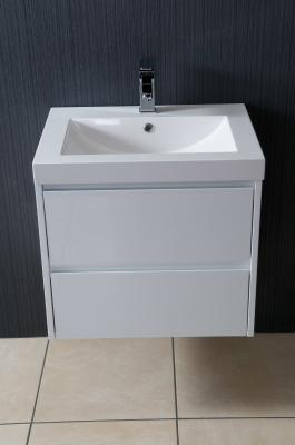 Alliance Galloway Wall Hung 605 Basin And Unit White