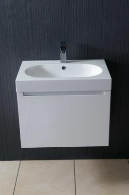 Alliance Gleneagles Wall Hung 600 Basin And Unit White