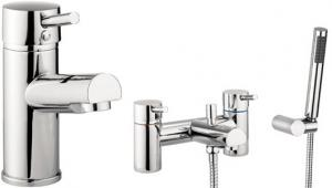 Adora Globe Basin & Bath Mixer Tap Pack