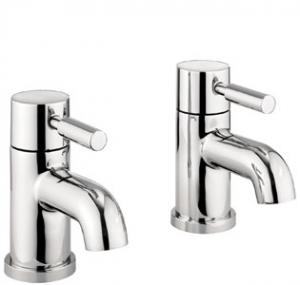 Adora Fusion Basin Pillar Taps Pair