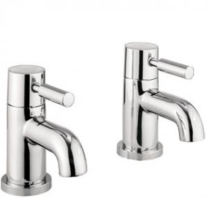 Adora Fusion Bath Pillar Taps Pair