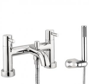 Adora Fusion Bath Shower Mixer Dual Lever With Kit
