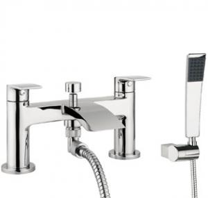Adora Flow Bath Shower Mixer Dual Lever With Kit