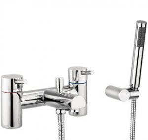 Adora Globe Bath Shower Mixer Dual Lever With Kit