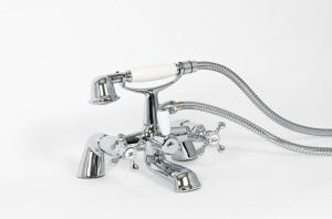 ALLIANCE MELROSE BATH SHOWER MIXER INC KIT CP