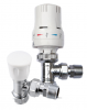 Thermostatic radiator valve & LS pack angled
