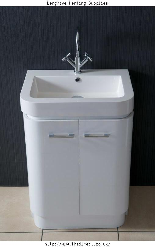 Alliance Bowmore 500 Basin And Unit White Alliance