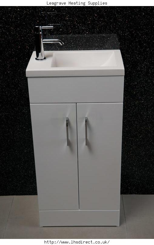 Alliance Lomond 400 Floor Standing Basin And Furniture