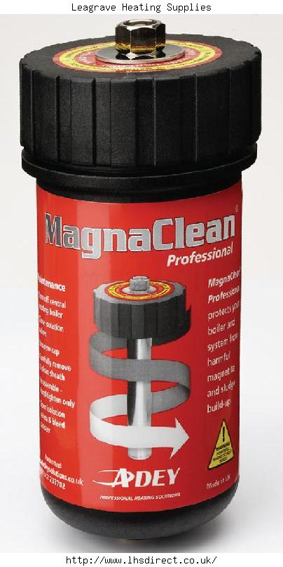 Magnaclean Magnetic Filter Adey Solutions Magnaclean